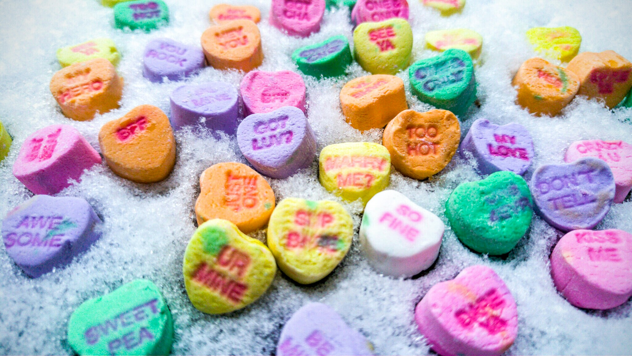 Chalky Hearts