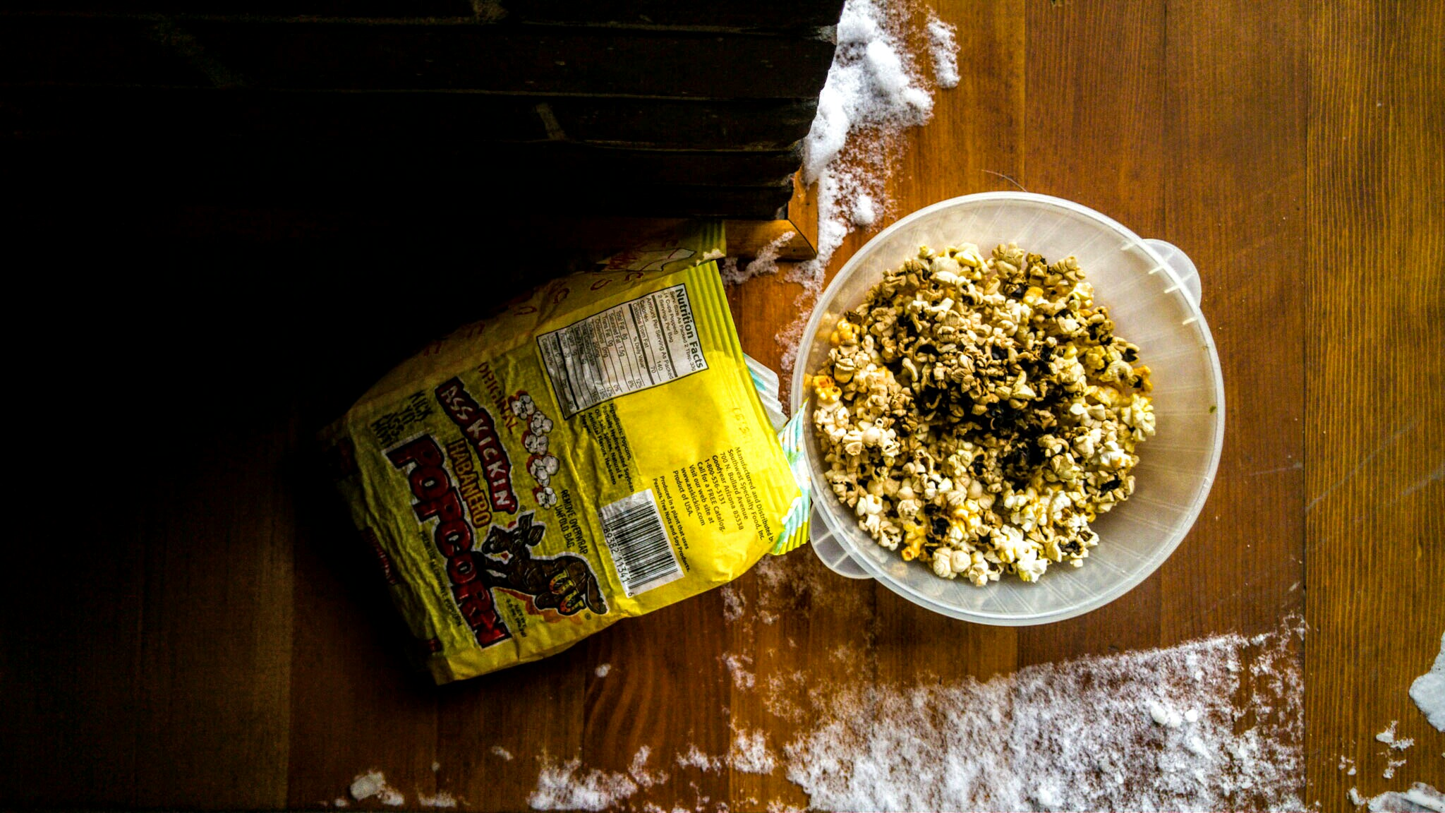 Popcorn on the porch makes me ranty.