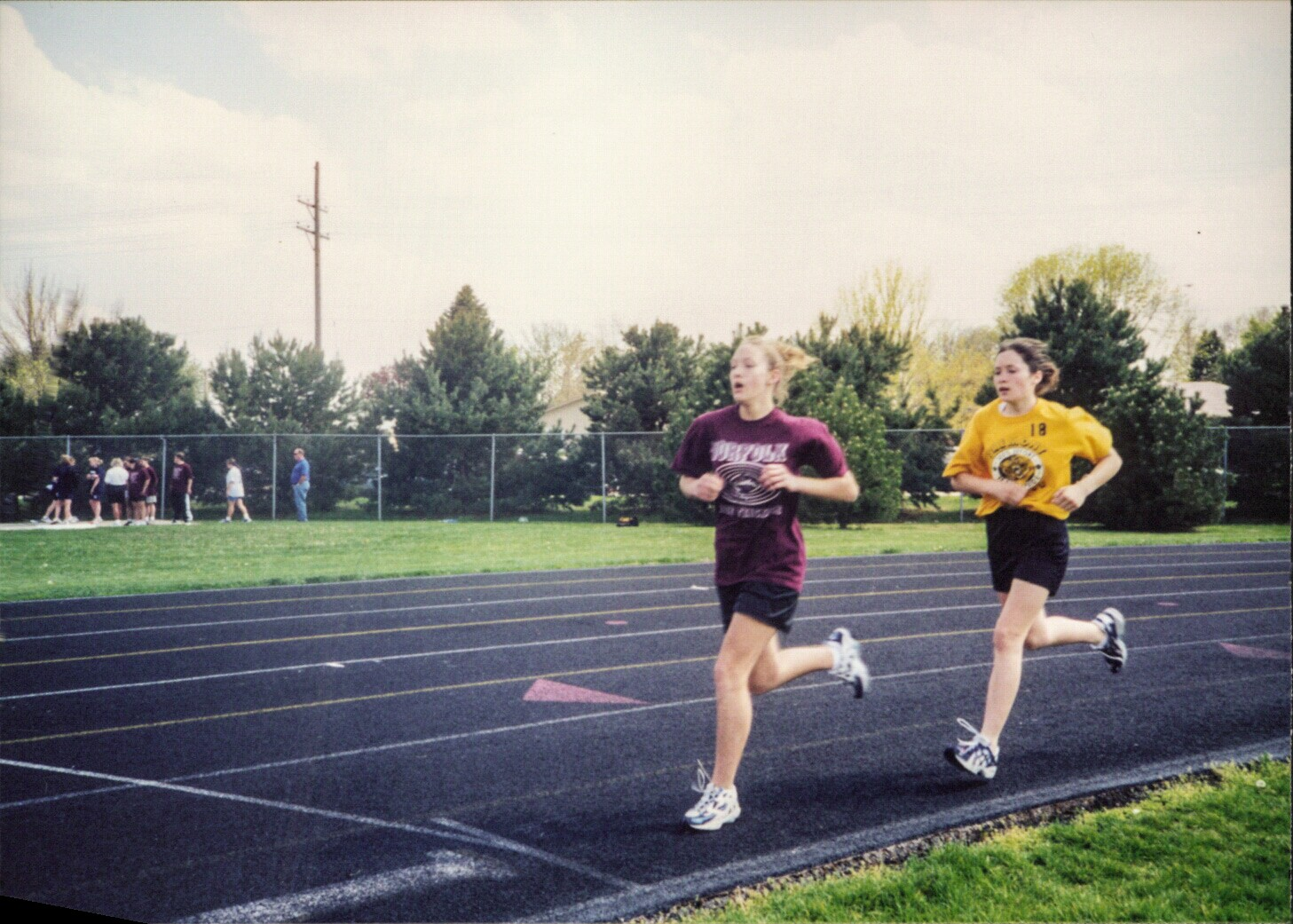 Middle school mile